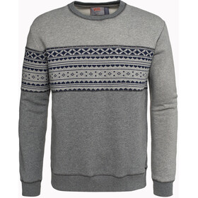 Varg M's Fjällbacka Cotton Jersey Grey with Blue